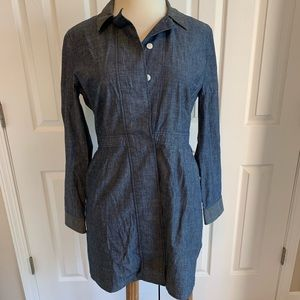 Kate Spade Saturday Chambray Tailored Shirt Dress